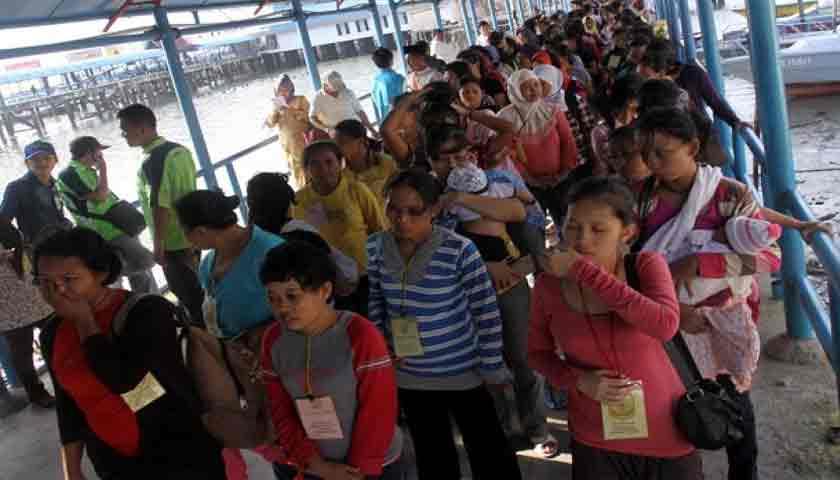 Lagi! Pemerintah Malaysia Usir 117 WNI dari Negeri Sabah