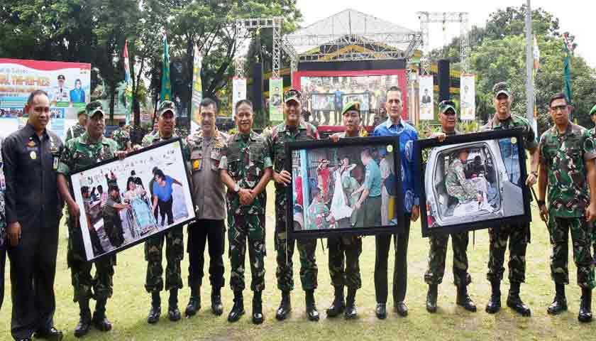 Wagub Imbau Bupati/Walikota Bantu Program Pencanangan Bhakti Sosial TNI-KB-Kesehatan