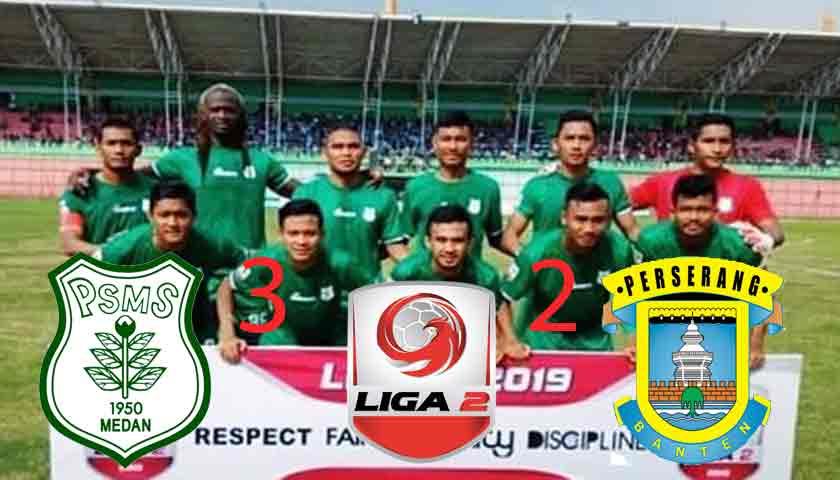 "PSMS ""Ayam Kinantan"" Medan Penuhi Janjinya Terkam Perserang 3-2"
