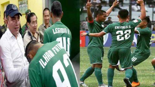 "Gubsu Edy Rahmayadi Datang PSMS Medan ""The Killer"" Menang"