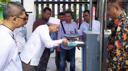Jamaah Calhaj Embarkasi Medan Dapat Souvenir dari PDAM Tirtanadi