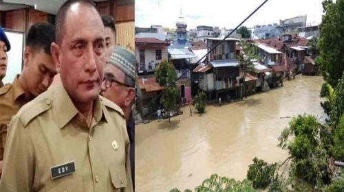 Gubsu: Rumah Warga Dipinggiran Sungai Deli Akan Dipindahkan ke Rumah Susun