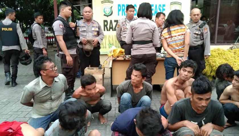 Kampung Narkoba di Medan Digerebek Lagi, Belasan Pelaku Diamankan Polisi