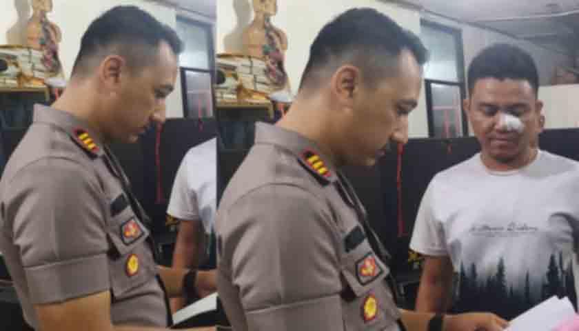 Kapolsek Patumpak Dikeroyok, Mengadu ke Mapolrestabes Medan