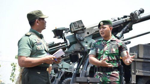 Diperiksa Tim Dislaikad, Caesar Armed 12/Divif-2/Kostrad Dukung Latgab TNI