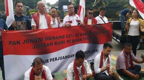 Masyarakat Karo Unjuk Rasa Depan Istana Negara, Tuntut Bangun Jalan Tol Medan–Berastagi