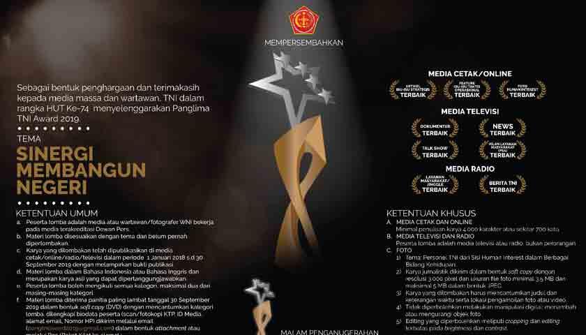 Panglima TNI Award