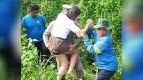 Polisi Dihajar Istri Hingga Opname di RS Gegara Tolong Wanita Cantik