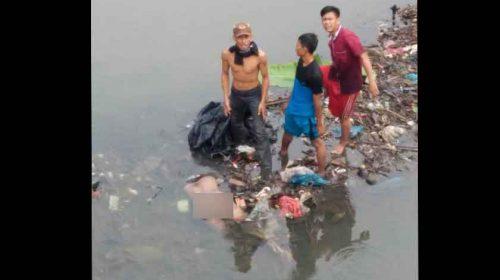 Pria Bertato Love Tewas Mengapung Di Sungai Deli