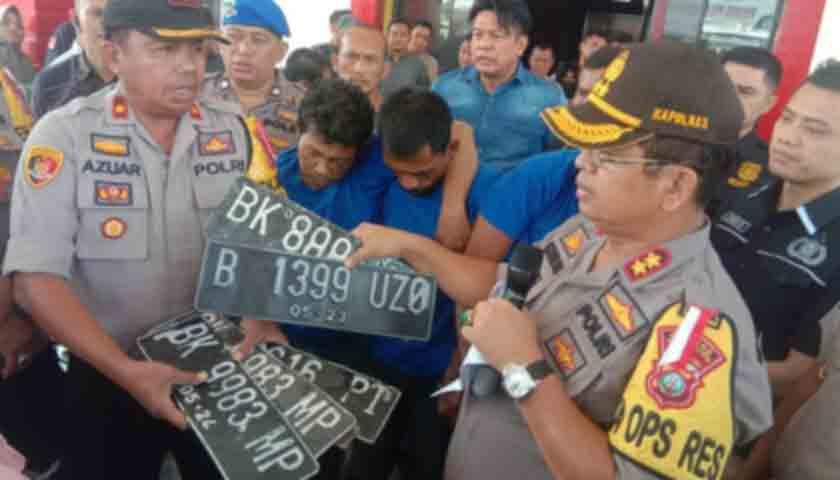 Dooorr..!!! 3 Spesialis Pencuri Mobil Pick Up Ditembak, Disergap saat Pesta Sabu