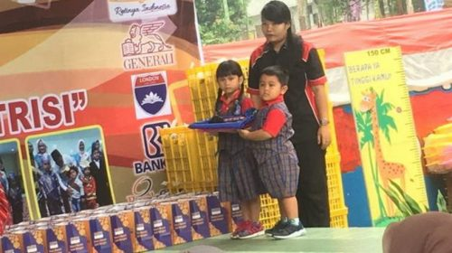 Bunda Paud Sumut Kunjungi TK Bharlind School