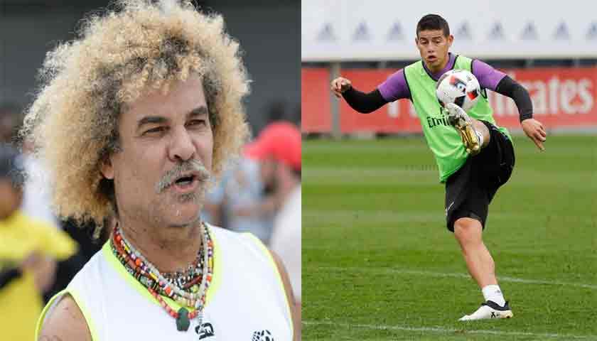 Carlos Velderrama Sarankan James Rodriguez Tinggalkan Real Madrid