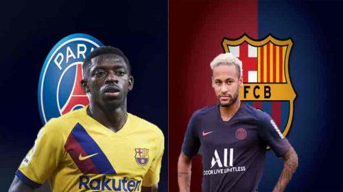 Demi Dapatkan Neymar Barcelona Ajukan Tawaran Ousmane Dembele ke PSG
