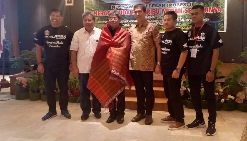 Jhon Amri Pasaribu Pimpin GMP-MS, Gubsu Ajak Pemuda Pasaribu Wujudkan Sumut Bermartabat