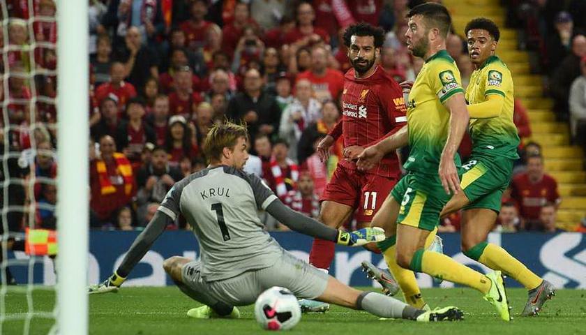 Liverpool Awali Musim dengan Kemenangan Telak