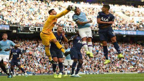Juara Bertahan Manchester City Ditahan Tottenham Hotspur 2-2