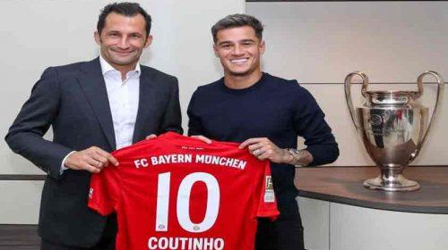 Philippe Coutinho Resmi Tinggalkan Barcelona Berlabuh ke Bayern Munchen