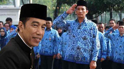 Korpri Masih Berharap Presiden Joko Widodo Naikkan Gaji PNS di Tahun 2020