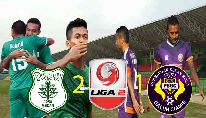 """PSMS """"The Killer"""" Medan Sikat PSGC Ciamis 2-1 di Liga 2 Indonesia 2019"""