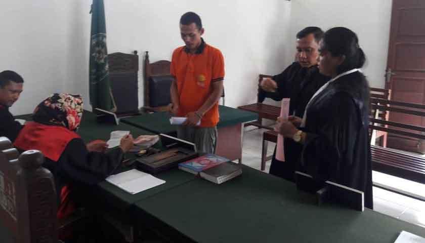 Anak Durhaka Dituntut 10 Bulan Penjara