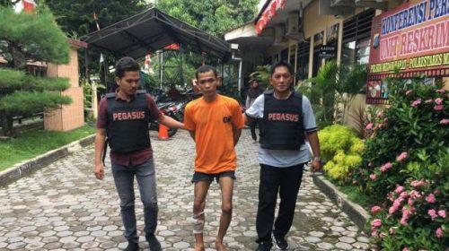 Bobol Kamar Kost Mahasiswi, Kaki Kiri Residivis Ditembak