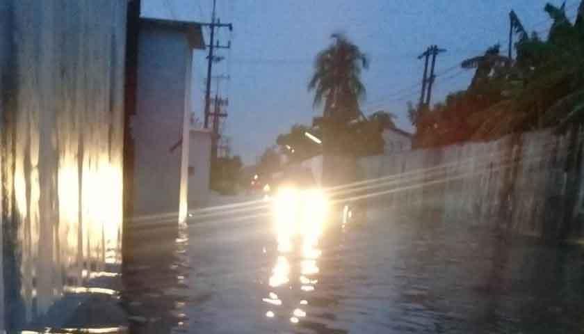 Hujan Deras, Tiga Desa di Kecamatan Sunggal Terendam Banjir