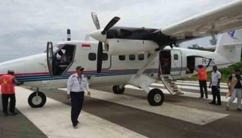 Pesawat Angkut Beras Bulog Hilang Kontak di Papua