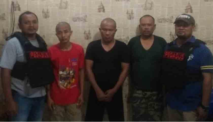 Pesta Sabu Digerebek, Tiga Sekawan 'Dijaring' Polsek Patumbak
