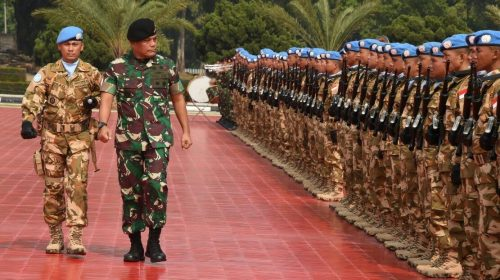 Keren..!!! Prajurit TNI Dipercaya Emban Tugas Internasional