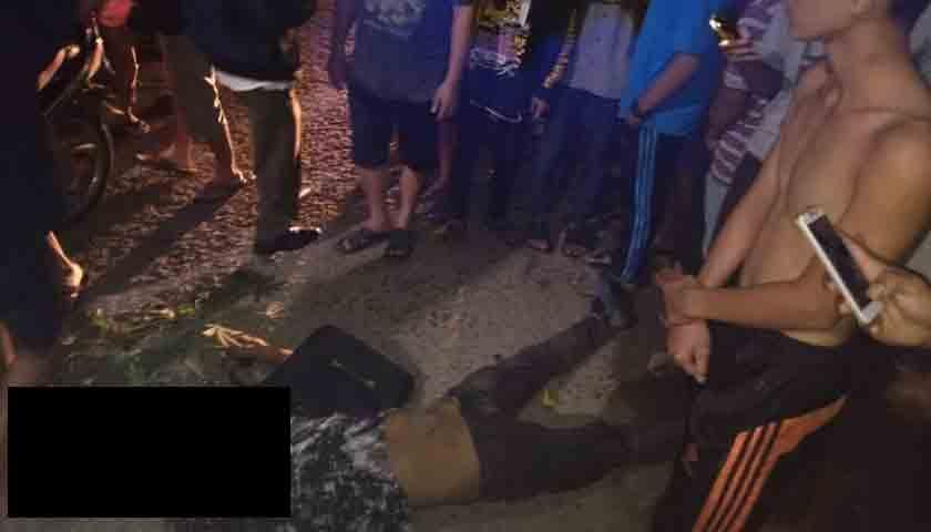 Bandit Jalanan Bernasib Sial, Usai Menjambret Meninggal di TKP