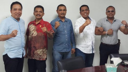 Erwin Siahaan Ketua Fraksi, Tiga Partai Bentuk Fraksi di DPRD Medan