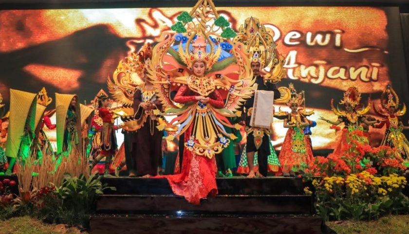 Drama 'Tiga Rahasia Rinjani' Meriahkan Opening Ceremony APGN 2019