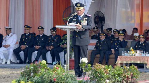 Gubernur Sumut Jadi Irup Apel Hari Perhubungan Nasional