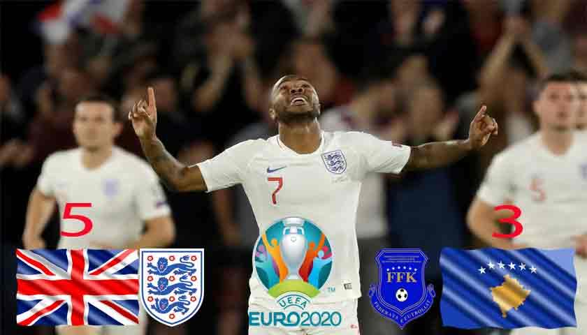 Hasil Kualifikasi Piala Eropa 2020: Drama Delapan Gol Terjadi Saat Inggris Bersua Kosovo