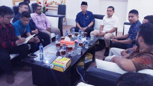 Cipayung Plus Temui Pimpinan DPRD Medan, Minta Dilibatkan Membangun Kota