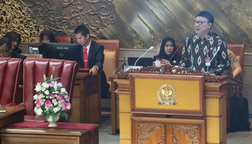 Mendagri: Revisi UU MD3 Demi Wujudkan Lembaga Permusyawaratan Lebih Demokratis