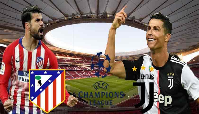 Prediksi Liga Champions Atletico Madrid vs Juventus 19 September 2019