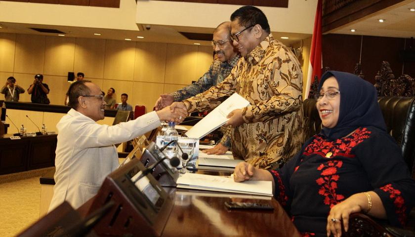 DPD RI Sahkan Hasil Rekomendasi Calon Anggota BPK RI