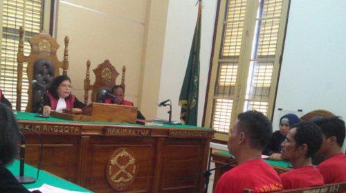 3 Terdakwa Kurir 50 Gr Sabu Dituntut Masing-masing 10 Tahun Penjara