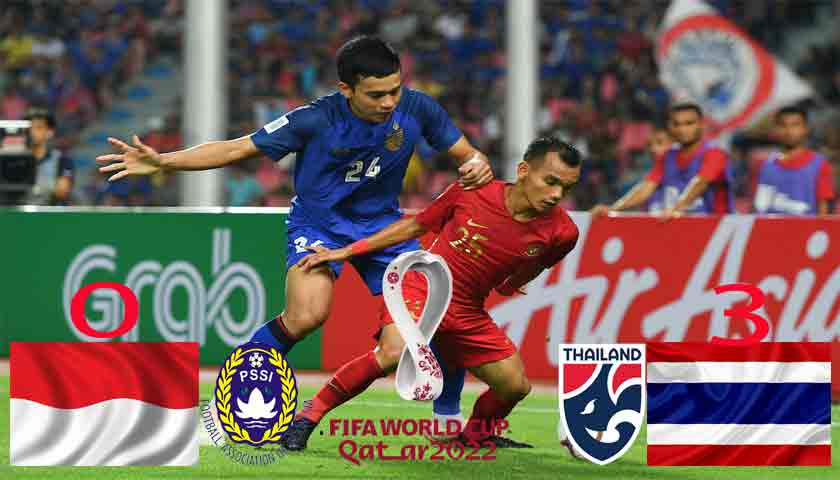 Kualifikasi Piala Dunia 2022 Zona Asia: Timnas Indonesia Dipermalukan Thailand 0-3