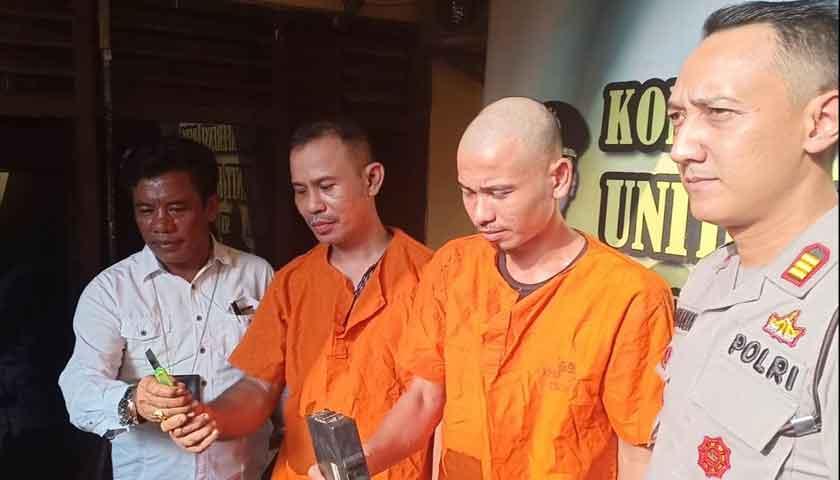Dua Maling Kampung Dibekuk Usai Terekam CCTV