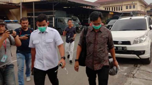 KPK Bawa Ajudan Walikota Medan Dari Mapolrestabes Medan ke Jakarta
