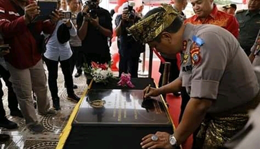 Gedung Baru Makopolres Batubara Diresmikan, Kapoldasu Bilang Siap 'Jewer' Kapolres