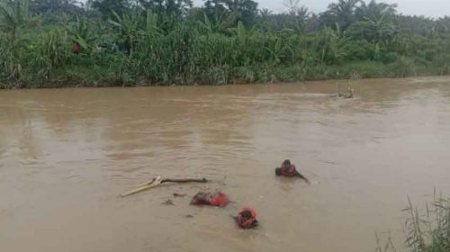 Mr X Ditemukan Tewas Mengapung di Sungai Bingai Binjai