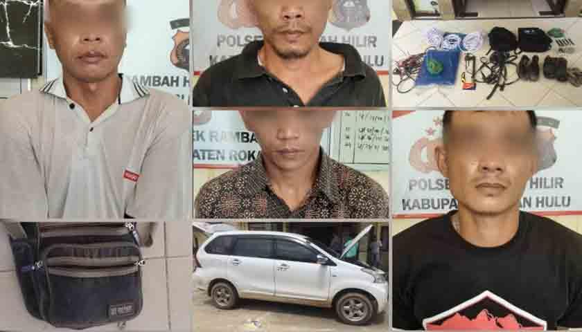2 Warga Sumut, Pencuri Ternak Sapi Lintas Provinsi Digulung Polisi
