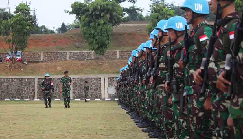 Nih Pesan Brigjen Victor H Simatupang untuk Satgas Batalyon Mekanis TNI