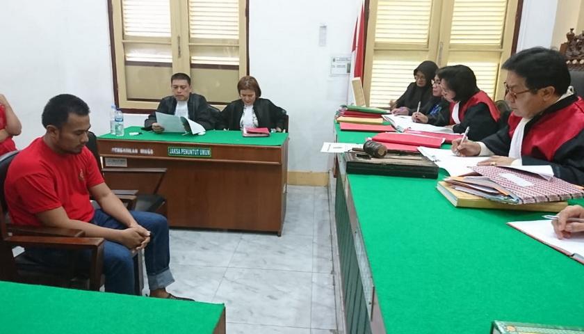 Sebelumnya Divonis 20 Tahun, Terdakwa Kurir Sabu M Ridwan Kembali Dituntut