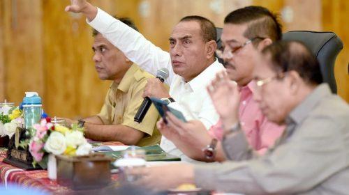 Pimpin Rakor KSN Mebidangro, Edy Rahmayadi Ingatkan Semua Pihak Tentang Perpres 62/2011