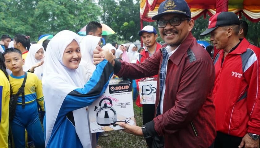 Guyuran Hujan Iringi Perayaan Haornas ke-26 Tahun 2019 Kabupaten Batubara