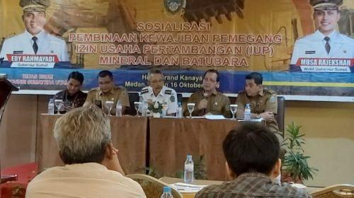 Gubernur Sumut Minta Bupati/Wali Kota Mendata Izin Tambang